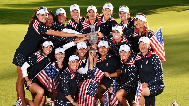 Inkster captained Team USA to a dramatic victory in 2015