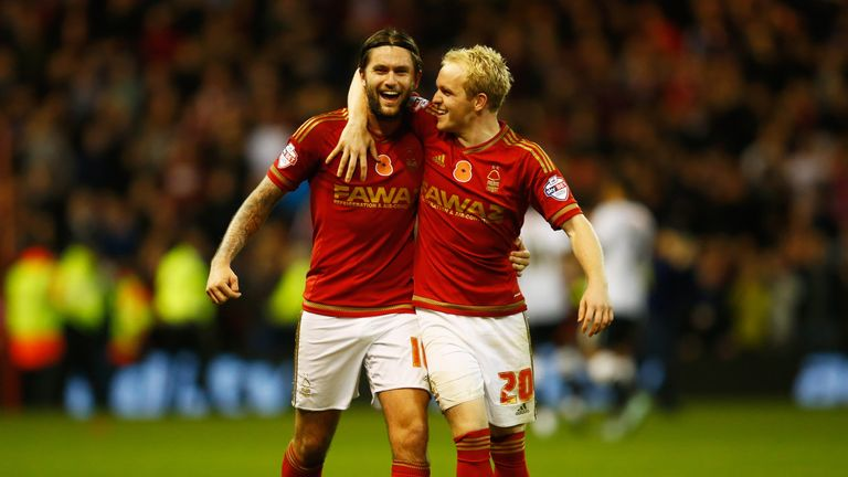 Lansbury is enjoying his time at Nottingham Forest and feels it was the correct decision to reject a move to Burnley in the summer