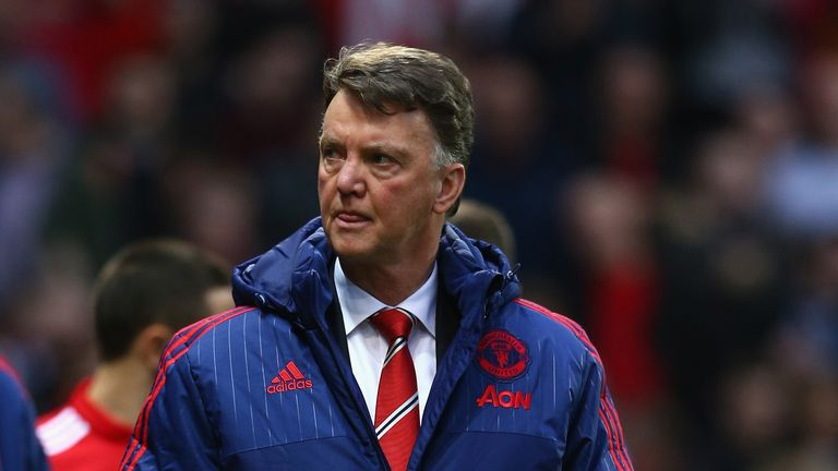 Manchester United manager Louis van Gaal admits the pressure is growing on him at Old Trafford