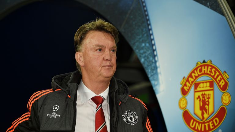 Louis van Gaal saw his Manchester United side lose 2-1 at Bournemouth