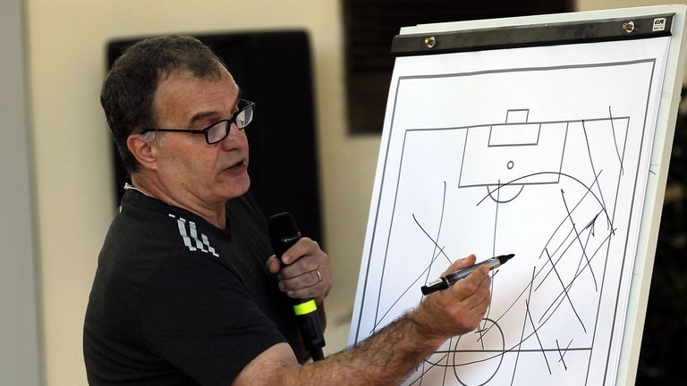 Bielsa is famed for his tactical innovation