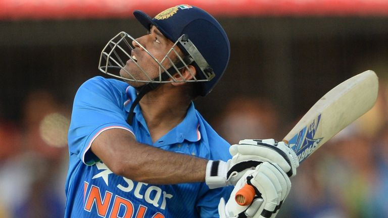 MS Dhoni will captain India on home soil