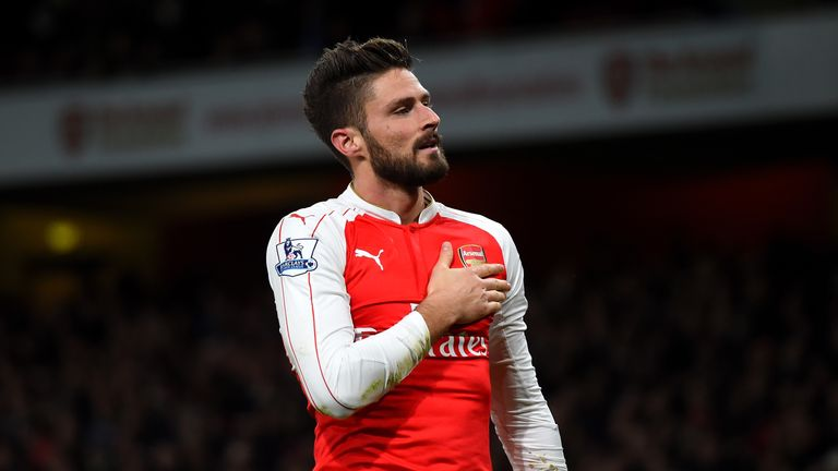 Olivier Giroud will be hoping to fire Arsenal to a successful Christmas campaign