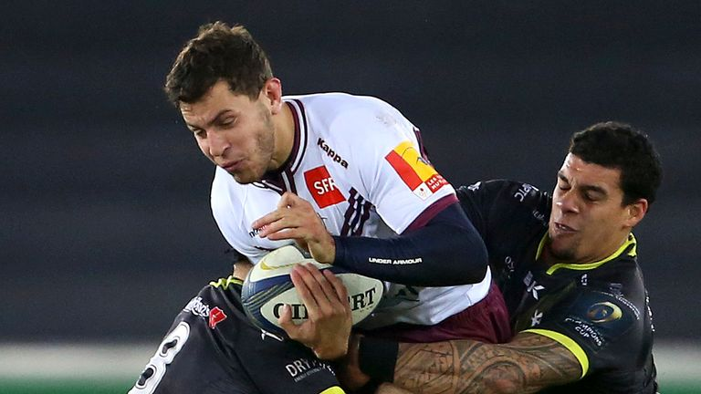 Despite being down to 13-men for the final minutes of the match Bordeaux refused to give up