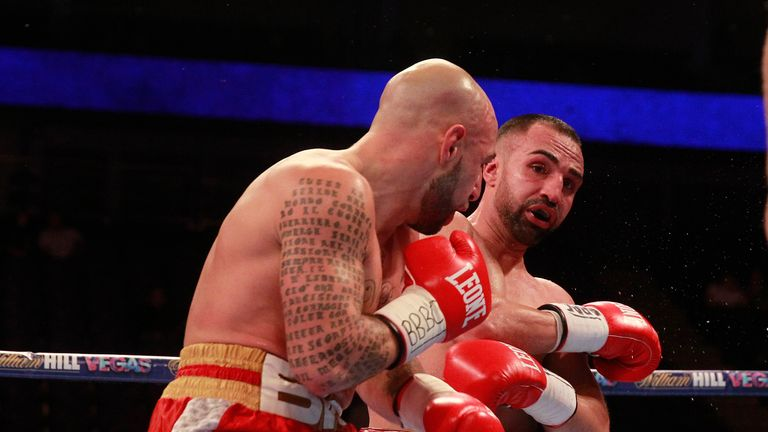 Moscatiello did make Malignaggi work in the closing rounds