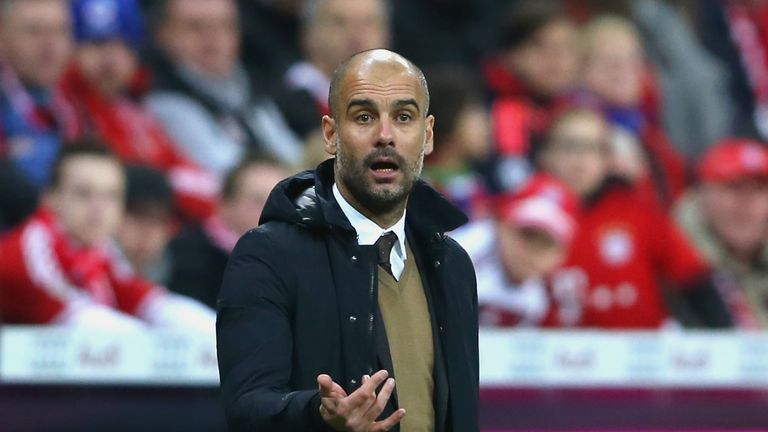 Pep Guardiola's contract at Bayern Munich expires at the end of the season