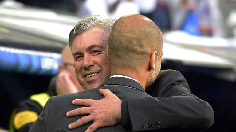 Carlo Ancelotti has signed a three-year deal to replace Guardiola