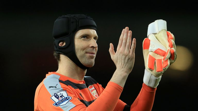 Petr Cech set a clean sheet record against Bournemouth