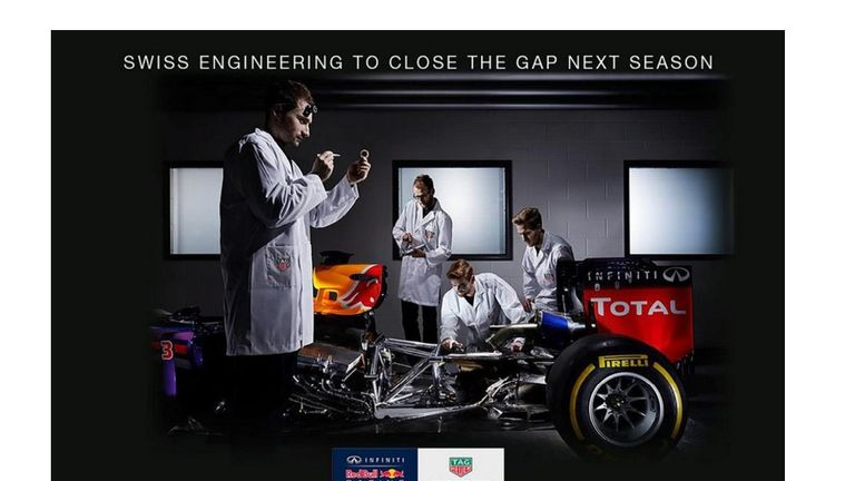 TAG Heuer has switched from McLaren to Red Bull after 30 years