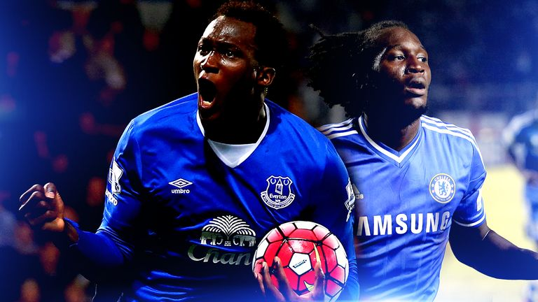 the latest 4a8be 59379 Romelu Lukaku showing Chelsea what they're missing at ...