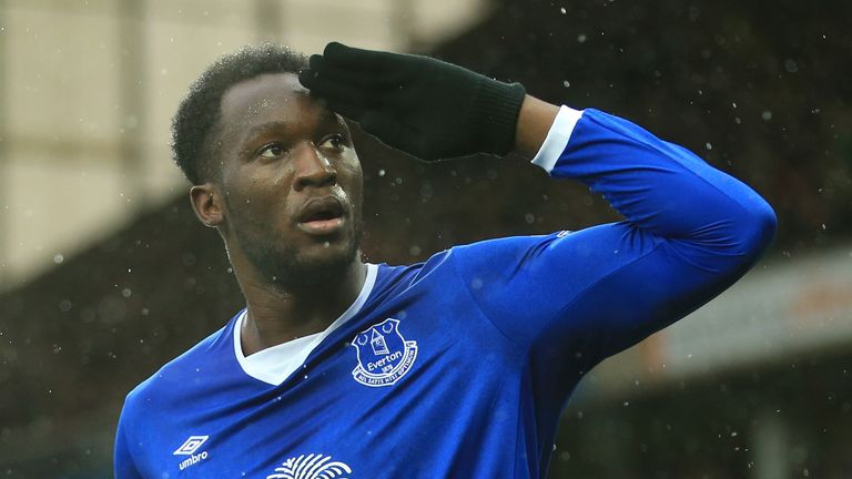 Romelu Lukaku has been in the goals for Everton so far this month
