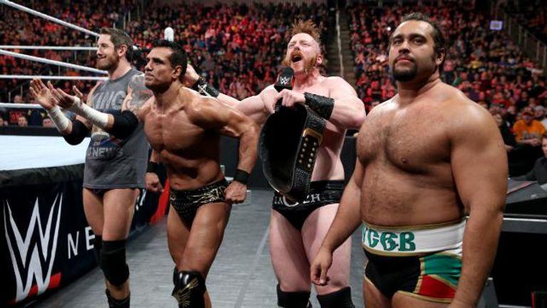 Wwe Raw League Of Nations Help Sheamus Retain World Title Wwe News Sky Sports
