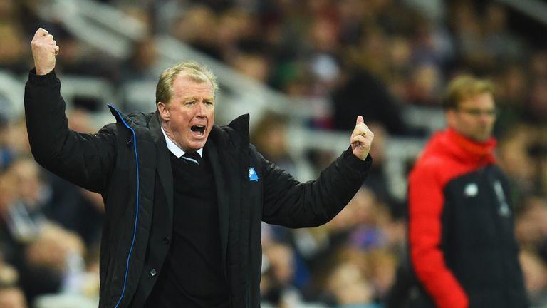 Steve McClaren oversaw a big win for Newcastle United