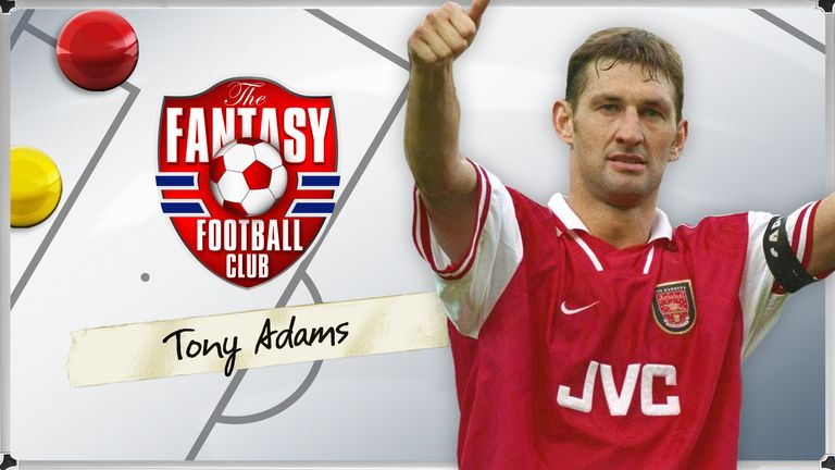 huge discount 2c6b4 0d66e Tony Adams picks Thierry Henry and David Beckham in his ...