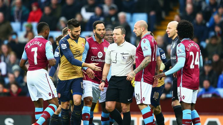 Aston Villa are eight points from safety after Sunday's 2-0 home defeat to Arsenal