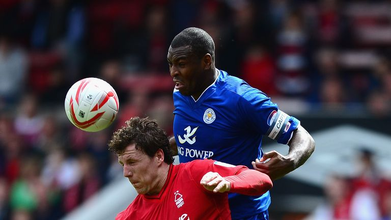 Morgan returned to Forest during Leicester's promotion season from the Championship