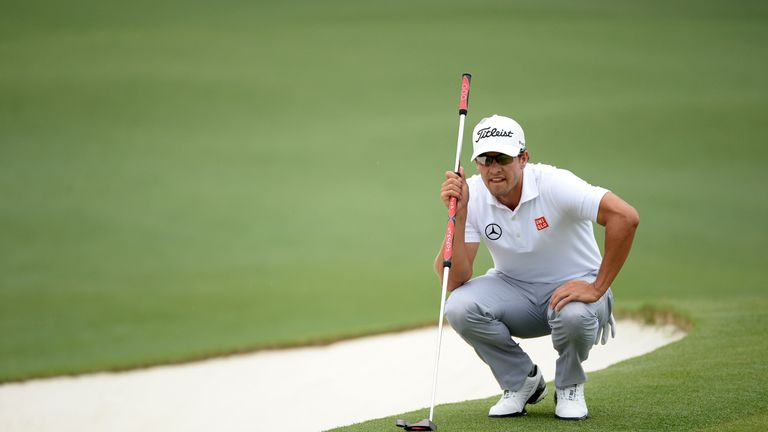 Scott became the first Masters champion to use a broom-handled putter in 2013