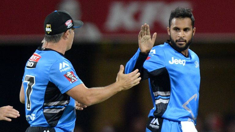 Adil Rashid also had a brilliant time of it in the Big Bash with the Adelaide Strikers