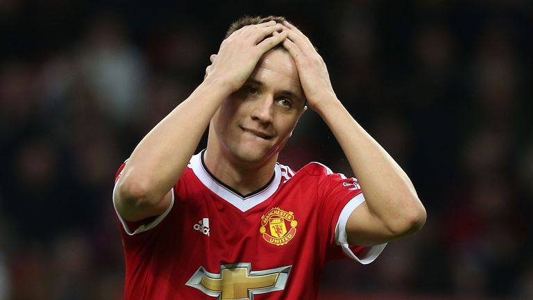 Ander Herrera has been in and out of the side