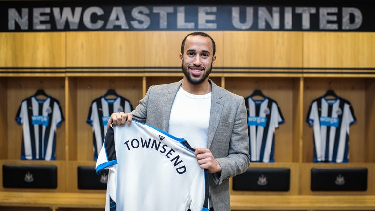Newcastle were January's biggest spenders as they brought in three players including Andros Townsend