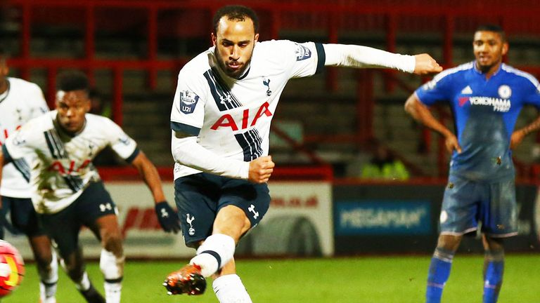 Townsend had been playing for Tottenham's U21s since the turn of the year