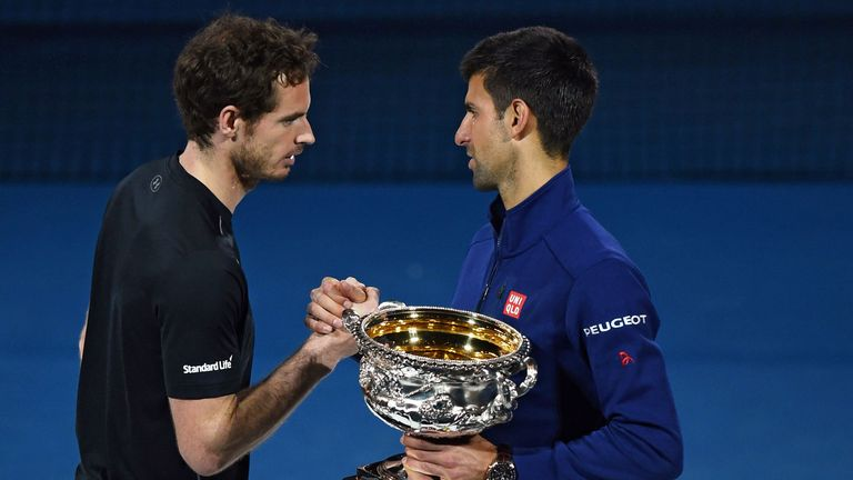 Djokovic beat Murray to claim his 11th Grand Slam title in 2016