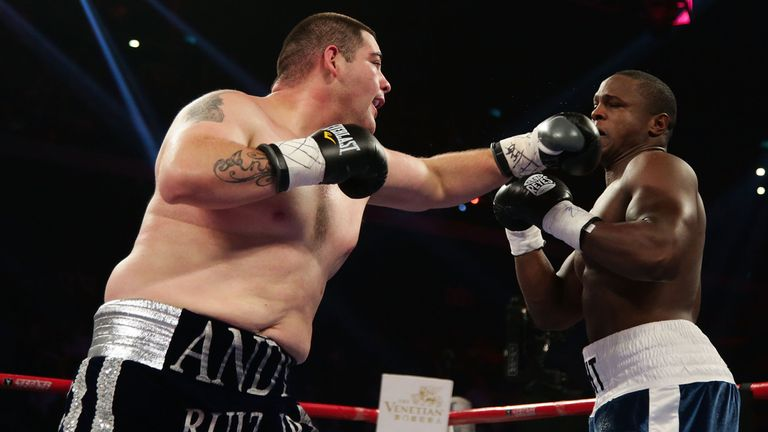Ruiz has racked up 18 stoppages in his 27 wins