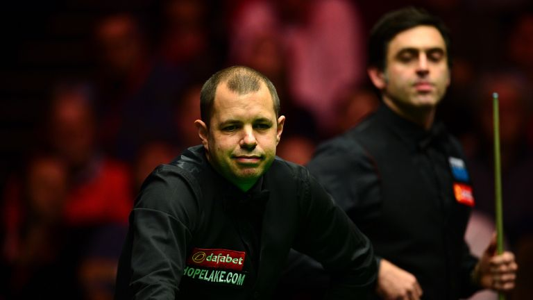 Barry Hawkins admitted his frustration at failing to perform in the final