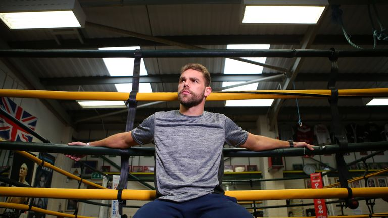 Billy Joe Saunders is determined to lure Gennady Golovkin to the UK