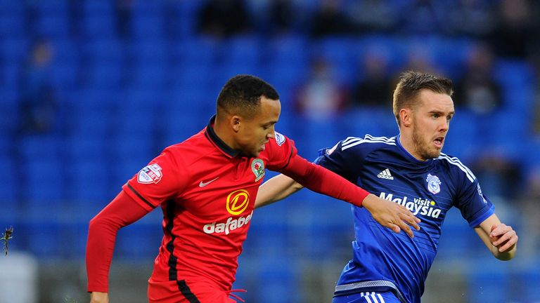 Marcus Olsson (right) opened the scoring for Fulham