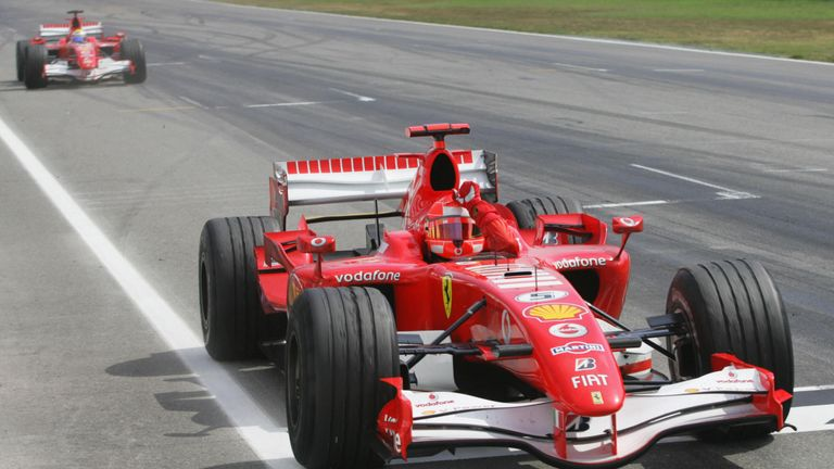 Ferrari's F1 Cars From The Last 10 Years In Pictures