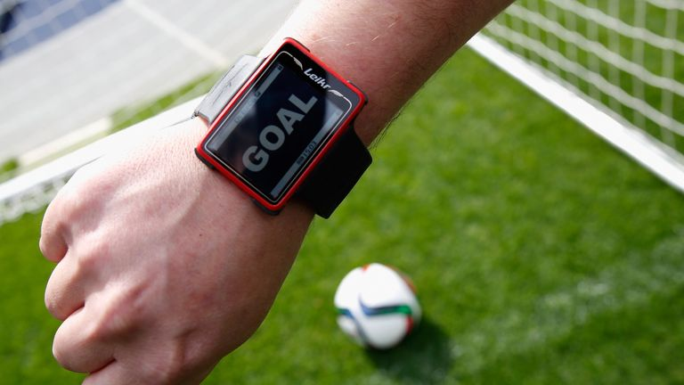 Video technology already exists to establish whether shots have crossed the goal line