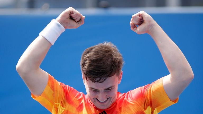 High emotions after Reid secures his first Grand Slam title