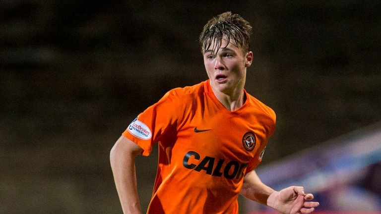 Jamie Robson is the third young Dundee United player to sign a new contract