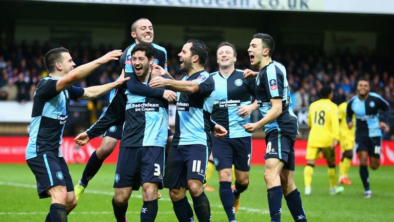 Joe Jacobson scored a penalty as Wycombe drew with Villa at Adams Park