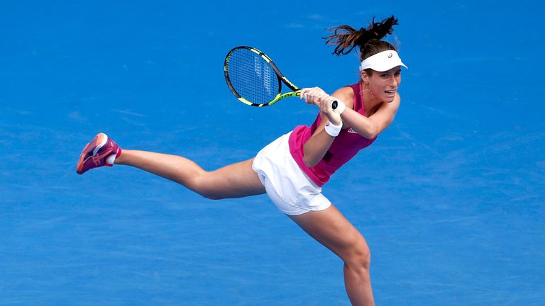 She reached semi-finals of the Australian Open in 2016