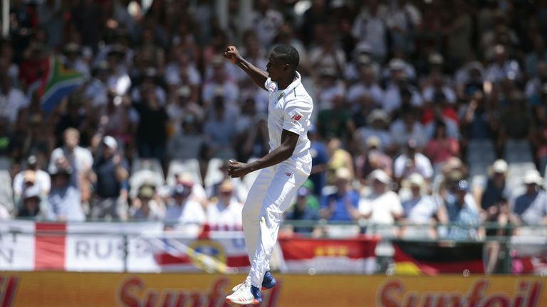 Kagiso Rabada claimed 22 wickets in the Test series against England