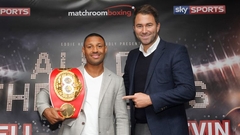 Eddie Hearn is hoping to secure a big-name fight for IBF champion Kell Brook