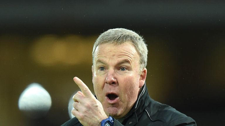 Wolves manager Kenny Jackett is targeting the playoffs