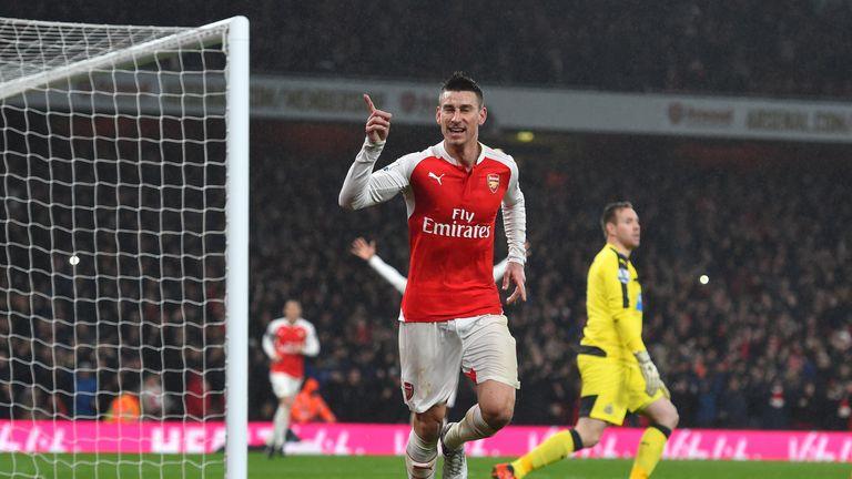 Laurent Koscielny scored Arsenal's winner against Newcastle