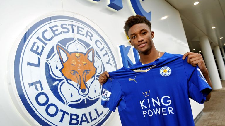 Demarai Gray joined Leicester in the January transfer window