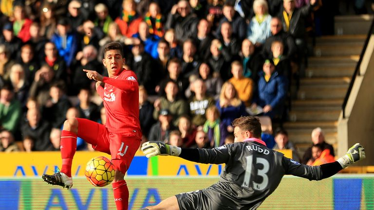 Roberto Firmino has four goals in three games