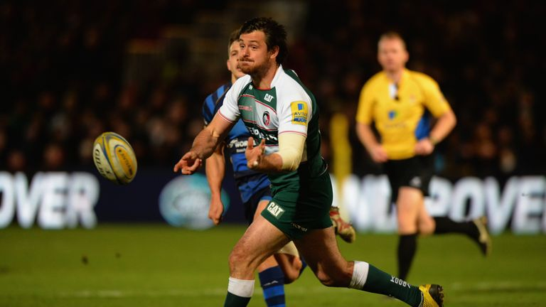 Matt Smith in action for Leicester