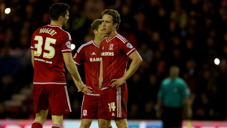 Middlesbrough slumped to their second successive Championship defeat