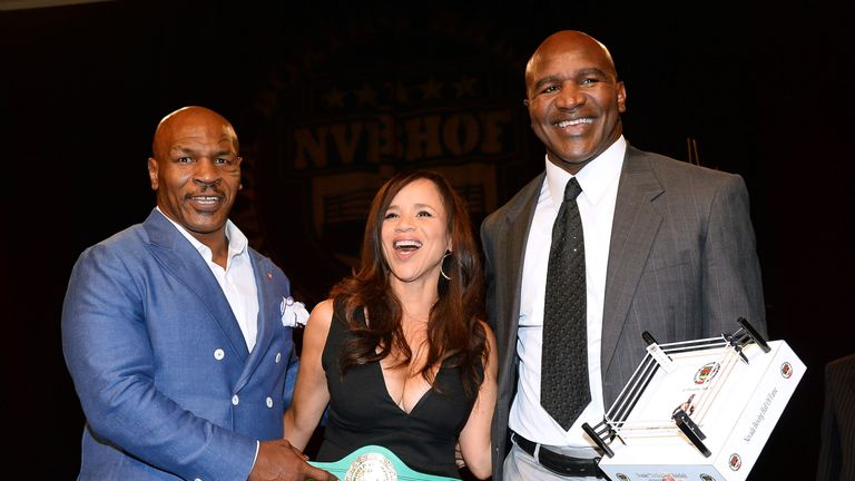Mike Tyson is happy for his legacy to continue via Tyson Fury
