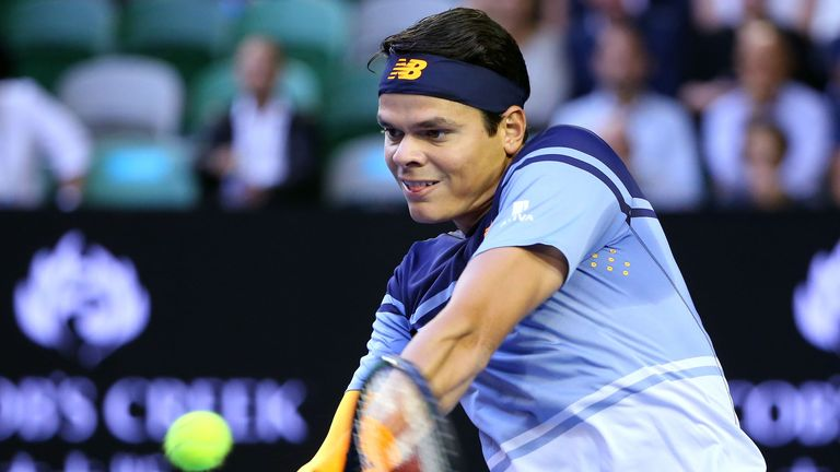 Milos Raonic is an improving force in the men's game
