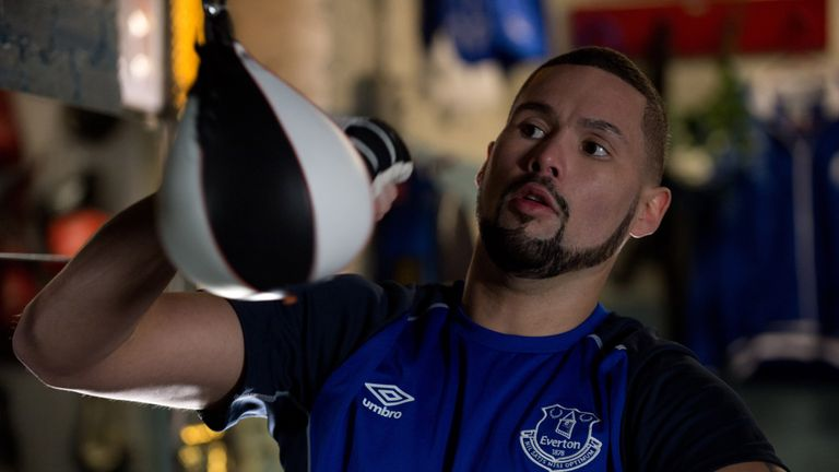 Everton fan Tony Bellew starred in Creed (Creed, Warner Brothers)