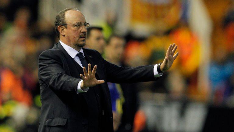 Benitez was sacked and replaced by former midfielder Zinedine Zidane