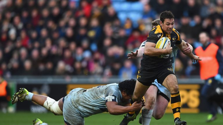 Rob Miller is one of a handful of Wasps players to sign new contracts