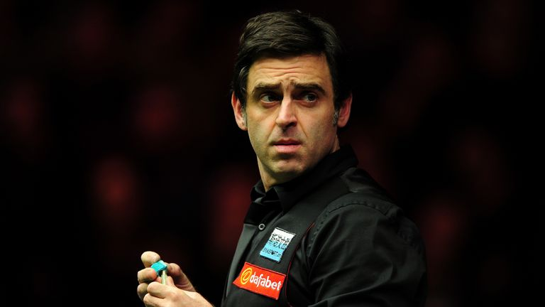 Ronnie O'Sullivan has been knocked out of the World Grand Prix in Llandudno